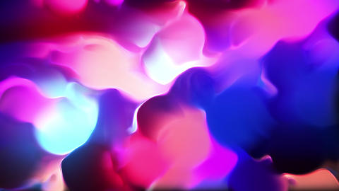 Ethereal Fractal Shapes Motion Background Animation