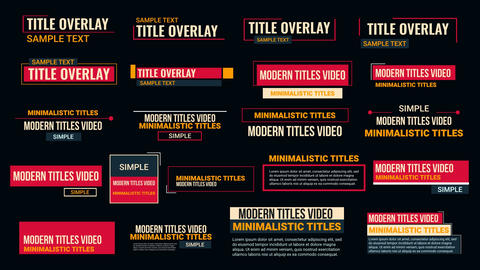 Creative Animated Titles After Effects Template