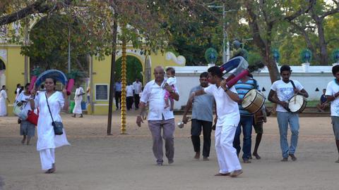 Kataragama, Sri Lanka - 2019-03-29 - Small Celebration…, Live Action