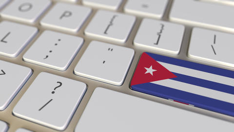 Key with flag of Cuba on the computer keyboard switches to key with flag of Live Action