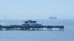 Beautiful scene around Rainbow Harbor Footage