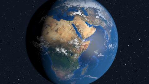 Earth animation an space Animation
