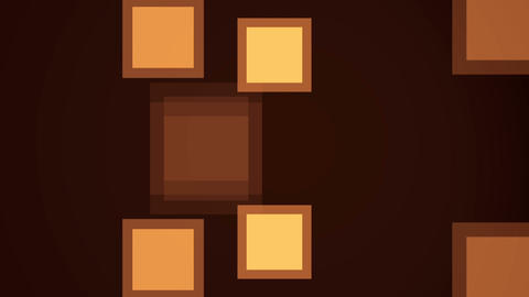 Motion background with animated squares. Seamless loop ภาพเคลื่อนไหว