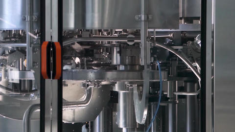 equipment at the milk factory Footage