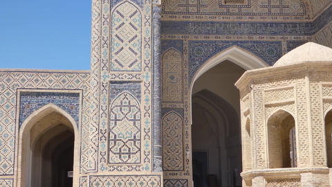 Ancient architecture of Central Asia and East Footage