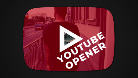 Youtube Opener After Effects Template