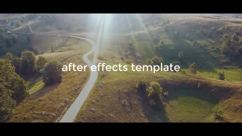 Cinematic Dynamic Opener After Effects Template
