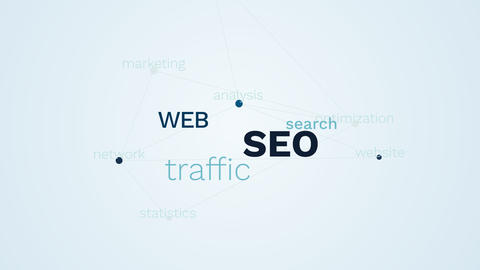 seo web traffic search optimization ranking analysis website network statistics Footage