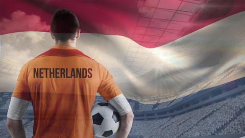 Netherlands soccer player Animation