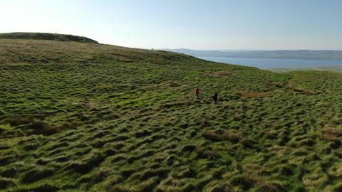 The infinite grasslands of Binenenagh in North Ireland Live Action