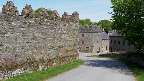 The famous filming location of Castle Ward in Northern Ireland near Belfast Live Action