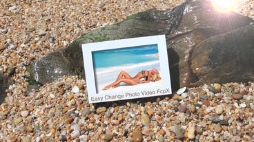 Beach Photoshow Apple Motion Template