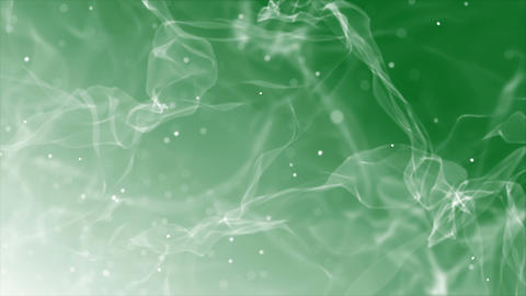 Smoke on a green background, Stock Animation
