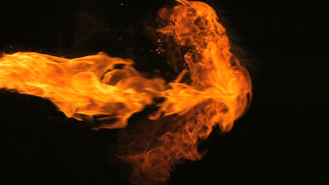 Slow Motion Fire Animation