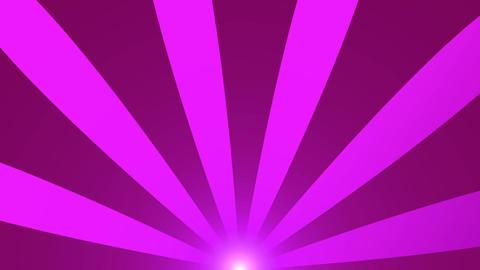Retro radial background, purple tint. Seamless loop Animation