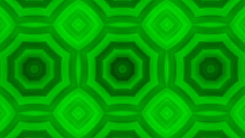 Kaleidoscope GREEN Animation
