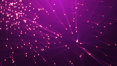 Flickering Particles, Purple background Seamless loop.... Stock Video Footage