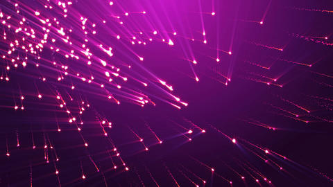 Flickering Particles, Purple background Seamless loop. Romance background Animation