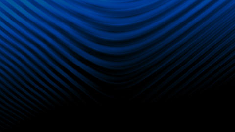 Curved lines background BLUE Animation