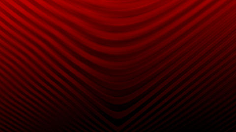 Curved lines background RED Animation