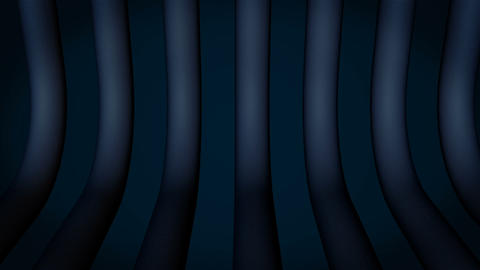 Dark 3d cylinder with dark background Animation