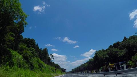 Comfortable road./。千葉東金有料道路。土気付近。 ライブ動画
