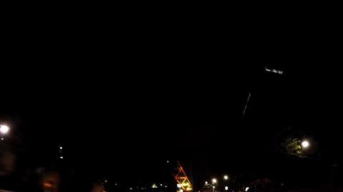 Night of the tourist resort, near Tokyo Tower/東京タワーの足元。 ライブ動画