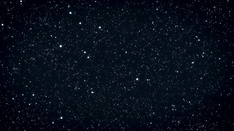 Seamless loop of twinkling stars Animation