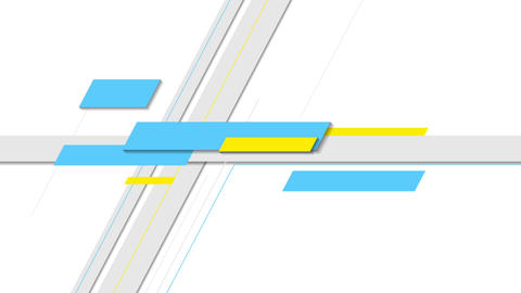 Minimal abstract tech geometric motion design Animation