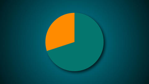 Circle diagram for presentation Animation