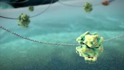 RNA splicing, in molecular biology Footage