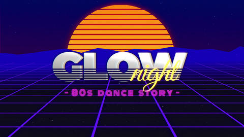 GLOW - VHS PROMO After Effects Template