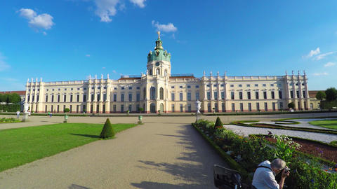 Charlottenburg Palace. Schloss Charlottenburg. Berlin. Germany. 4K Archivo
