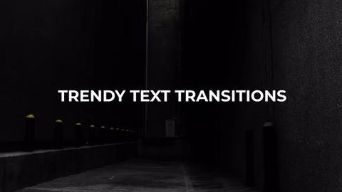 Trendy Text Transitions