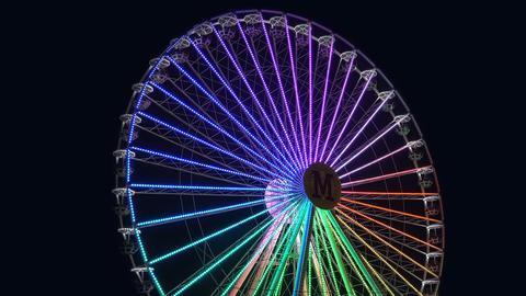 Night Entertainment Ferris Wheel 2 Live Action