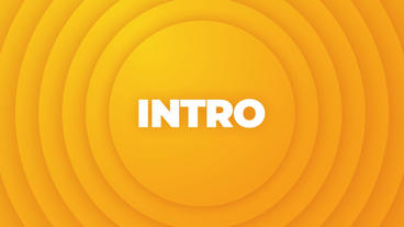 Modern Typography Intro モーショングラフィックステンプレート