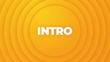 Modern Typography Intro Plantillas de Motion Graphics