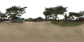360 Degrees Panorama View of Changgyeonggung Palace of the Joseon Dynasty in Seoul VR 360° Photo