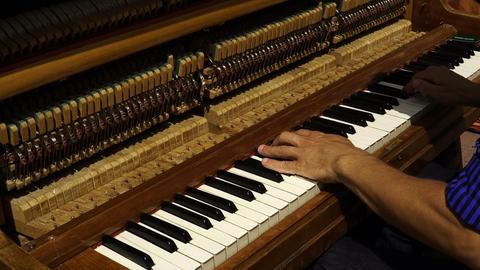 Street Musician Playing The Piano 1 ライブ動画