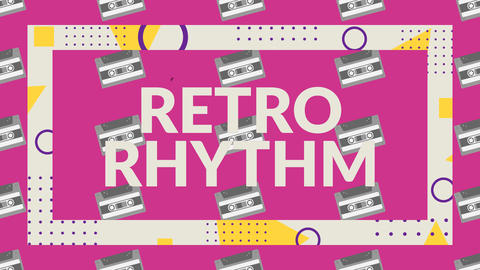 Retro Rhythm After Effects Template
