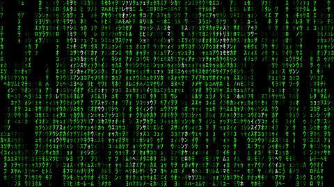 Matrix 002: Streaming data flux Animation