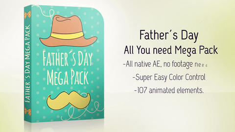 Father´s Day Bundle Pack After Effects Template