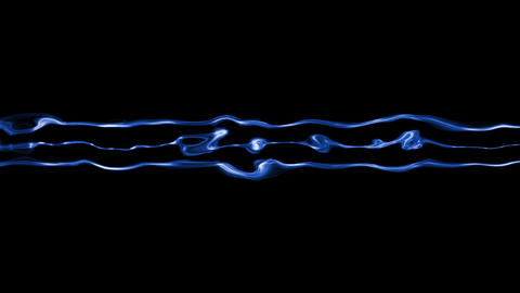 Video Background 1317: Abstract fluid forms ripple and flow Animation