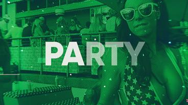 Modern Energy Trap Party Opener After Effects Template