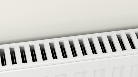 Central heating radiator Animation