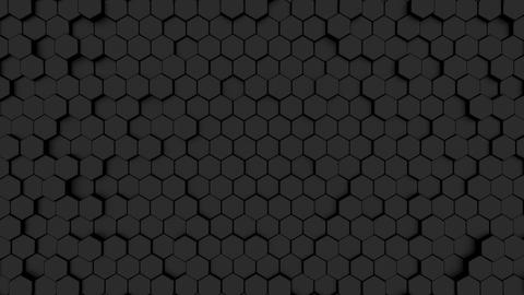 Polygon BG Black 4K Animation