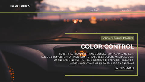 Tagline Slideshow After Effects Template