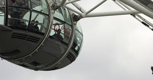London Eye Cabin Footage