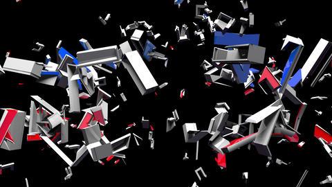 4K Text Bumper National Emergency 1 Videos animados