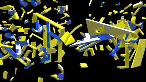 4K Text Bumper GDPR 2 Animation